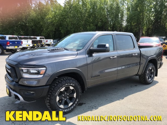 Ram 1500 Rebel >> New 2019 Ram 1500 Rebel Crew Cab 4x4 5 7 Box